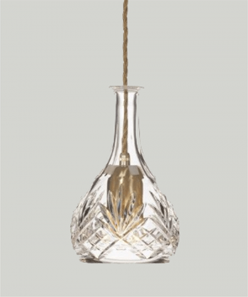 LEE BROOM Bell Crystal Decanterlight