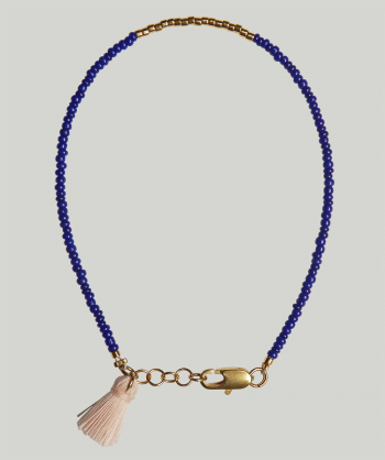 MY BREINER No. 30 Bleu Rose armbånd