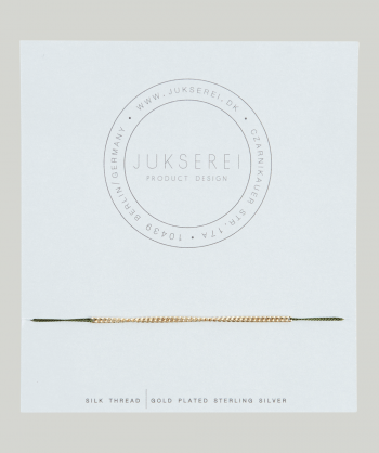 jukserei-good-luck-olive-chain-armbånd