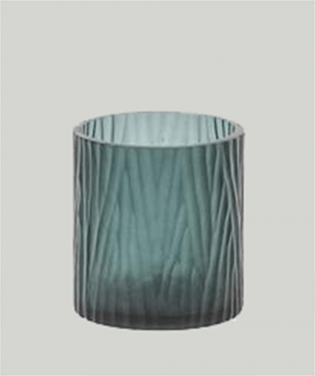 atelier-du-noir-mouthblown-tealight-candle-holder-cutting-grey-green