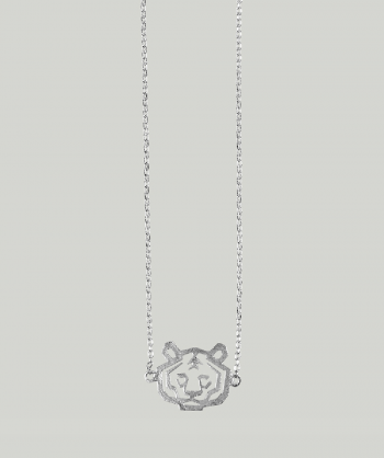 ATELIER DU NOIR Tiger Silver necklace